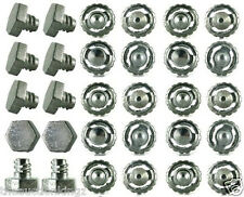 30 Beyblade Metal Steel Fusion Fight Masters Launcher Bolts Tip Spare Parts USA
