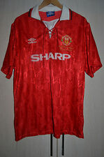 MANCHESTER UNITED 1992/1993 LEAGUE CHAMPIONS HOME FOOTBALL SHIRT JERSEY UMBRO