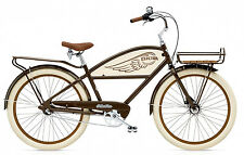Electra Delivery 3i Brown, Beachcruiser, Cruiser Bike, Transportrad Style
