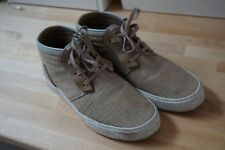 Clae McQueen Chukka - Camel Canvas - Men's Size 9.5 Skate Casual Shoes