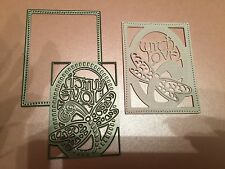TONIC STUDIOS DRAGONFLY DELIGHT INSERT CUTTING AND EMBOSSING DIE