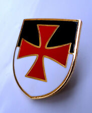ZP215 Knights Templar Beausant Shield Crusader St George Crusade Cross Badge