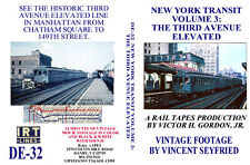 DVD Vintage Film New York Subway Third Avenue Elevated in Manhattan EL MUDC Cars