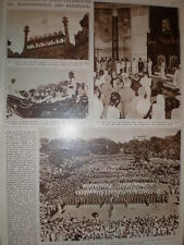 Photo article the Dominion of India celebrates its Independence 1947