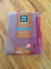 NIB: Xtreme Mac MicroFolio Durable Ultra-Thin Case for Ipad 2 Red