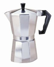 Primula Aluminum 1 Cup Stovetop Espresso Maker Latte Mocha Coffee Pot New 8931