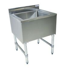 "7 Circuit Insulated Ice Bin & Cold Plate 48"" x 18"" Restaurant BBKIB-CP7-4812-18S"