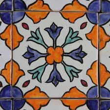 Handbemalte Fliese aus Marokko 10x10 cm Küche Fliesen Bad Mosaik Orientalisch