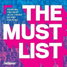 The Must List: Ranking the Best in 25 Years of Pop Culture-ExLibrary