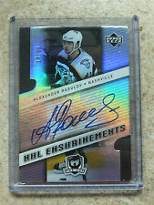 06-07 UD The Cup NHL Enshrinements Rookie RC Auto ALEXANDER RADULOV /50