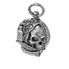 Alchemy Gothic The Death of Byron Skull & Poison Bottle Pewter Pocket Watch
