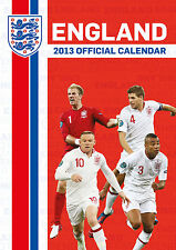 England National Team 2013 Calender Football Soccer new Three Lions NIP