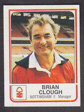 Panini - Football 84 - # 190 Brian Clough - Nottingham Forest