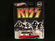 2012 Hot Wheels Nostalgia Pop Culture Live Nation KISS 59 CHEVY DELIVERY Riders