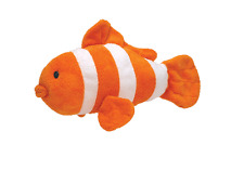 """Ty Pluffies Gilly the Clownfish 11.5"""" Bead Eyes MWMT - Free Shipping"""