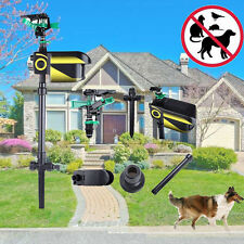Battery ScareCrow Motion Activated Water Animal Repeller Deterrent Sprinkler Hot