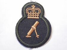 Canadian Armed Forces CANADA MORTOR trade qualification sleeve badge Level 3