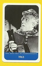 Agatha Christie Margaret Rutherford Cool Movie Film Collector Card from Europe