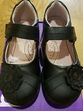 "New Fall Pediped Flex ""Sarah"" black  leather mary jane shoes,10-10.5,( 27),NIB"