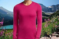 Icebreaker Womens Medium Bodyfit 260 Tech Top Merino Wool Crew Nwt $110
