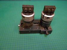 HIRSCHMANN Spannplatte mit 2 beweglichen Elektroden - Klemmhaltern