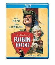 THE ADVENTURES OF ROBIN HOOD (1938 Errol Flynn)  Blu Ray - Sealed Region free