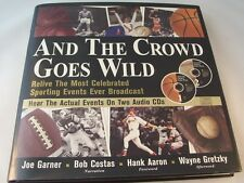 And The Crowd Goes Wild with 2 Audio CD's  HC w/DJ Book
