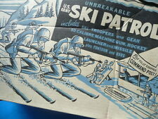 Ski Patrol MPC toy Playset MIB unused 1950s Multiple Products Corp ring hand