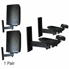 Boost Industries WB-1134 Ultra Grip Clamping Speaker Wall Brackets. 1Pair Black