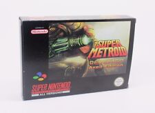 SUPER METROID REDESIGN:Axeil Edition   SUPER NINTENDO SNES PAL NTSC