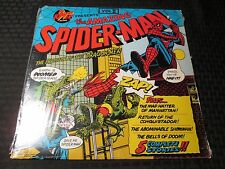 1974 Spider-Man The Invasion Of The Dragon-Men LP SEALED Power Records 8144