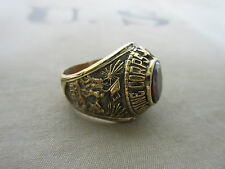 US Army Marine Corps USMC Eagle Globe Insignia Ring NAM PX Sterling Vietnam G 64