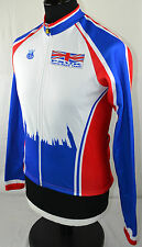 PSUK Cycle Race Team Windtex Police Sport UK Cycling Jacket S Jersey Shirt Top