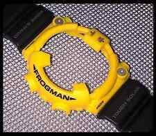 CASIO G-SHOCK FROGMAN GF8250 DW8200 YELLOW & BLACK STRAP BAND & BEZEL SHELL OEM