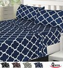 Bedding Sheet Set Microfiber 4 Piece Utopia Bedding Sizes Colors Available
