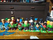 DC Universe Scribblenauts Unmasked LOT 27 Figures FLASH BATMAN BANE LEX LUTOR.