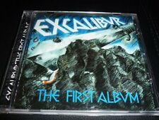 CD.EXCALIBUR. FIRST ALBUM. HEAVY PROG GERMAN 71 REMASTERS.