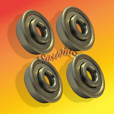 4 Universal Flanged Ball Bearing 3/8 x 1-1/8 Fits Many Lawn Mower & Other Wheels