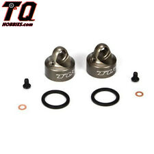 Team Losi Racing Bleeder Shock Caps Alum (2): 22 22SCT 2.0 TLR5065 Fast Ship
