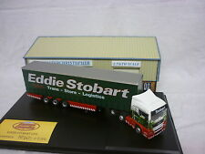 Oxford Diecast/Modern 1:76th Truck MAN Curtainside Eddie Stobart MAN06CS