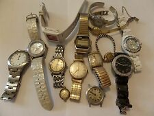 ESTATE WATCH LOT FOR REPAIR TINKERING PARTS HYDEPARK,BABY G ,GUESS,WALTHAM&MORE