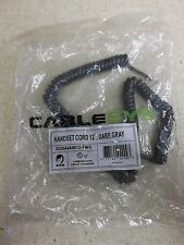 NEW Cablesys Handset Cord 12' Dark Gray GCHA444012-FMG *FREE SHIPPING*