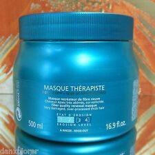 KERASTASE RESISTANCE MASQUE THERAPISTE MASK 500ml or 16.9oz SUPER FRESH!!!
