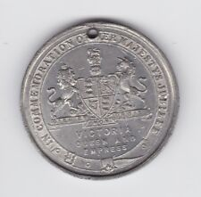 1887 VICTORIA QUEEN EMPRESS of INDIA MEDAL Commemoration Majesty's Jubilee H-728