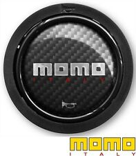 MOMO High Performance Horn Button - 2 Contact - Carbon Look