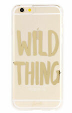 NEW Anthropologie WILD THING iPhone 6 / 6s Case $35 Transparent Polycarbonate