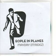 (AP747) People In Planes, Mayday (M'Aidez) - DJ CD