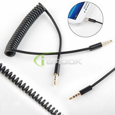4 Pole 3.5mm Male to Male Stereo Audio Headphone Aux Cable Cord for iPhone iPod