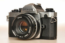 Nikon Fm2n with Nikkor 50mm f:1,8 pancake