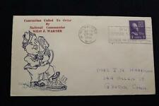PATRIOTIC COVER 1941 SLOGAN CANCEL AMERICAN LEGION CONVENTION CALL TO ORDER(1276